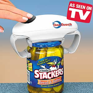 Smart Touch  Worlds Best Hands Free Bottle Can amp Jar
